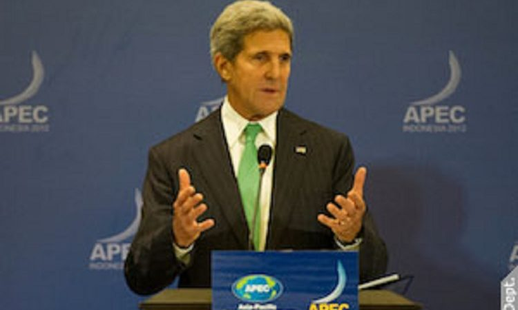 Secretary Kerry at the APEC 2013 in Bali, Indonesia. (Photo: State Department photo/Public Domain)