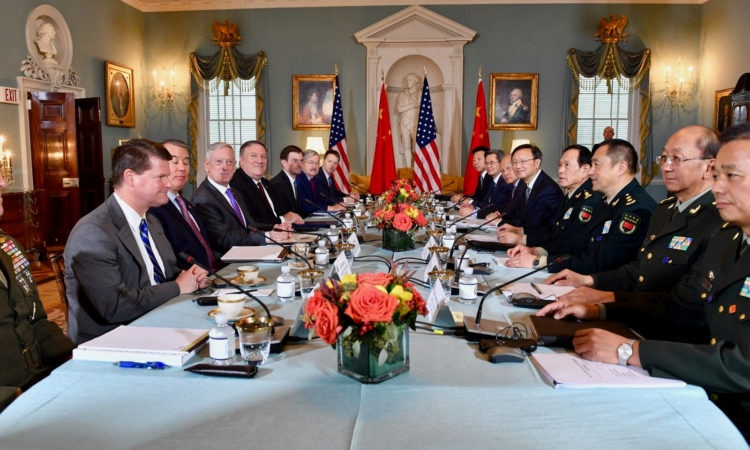Remarks by Secretary of State Michael R. Pompeo at U.S.-China Diplomatic and Security Dialogue