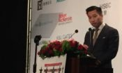Deputy Assistant Secretary of State Alex Wong at the American Chamber of Commerce in Taipei Hsieh Nien Fan